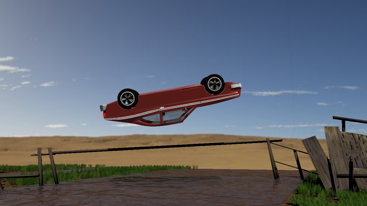 THE FAMOUS BARREL ROLL JUMP