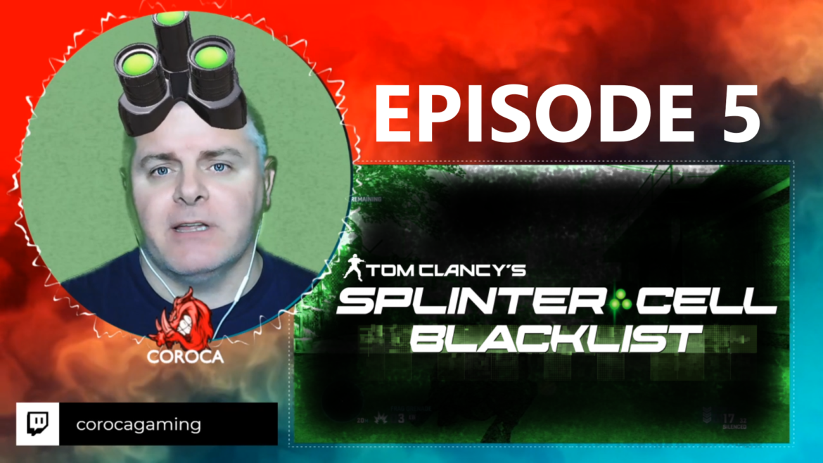 Episode 5 – Splinter Cell Blacklist (Blood Diamond Mission)